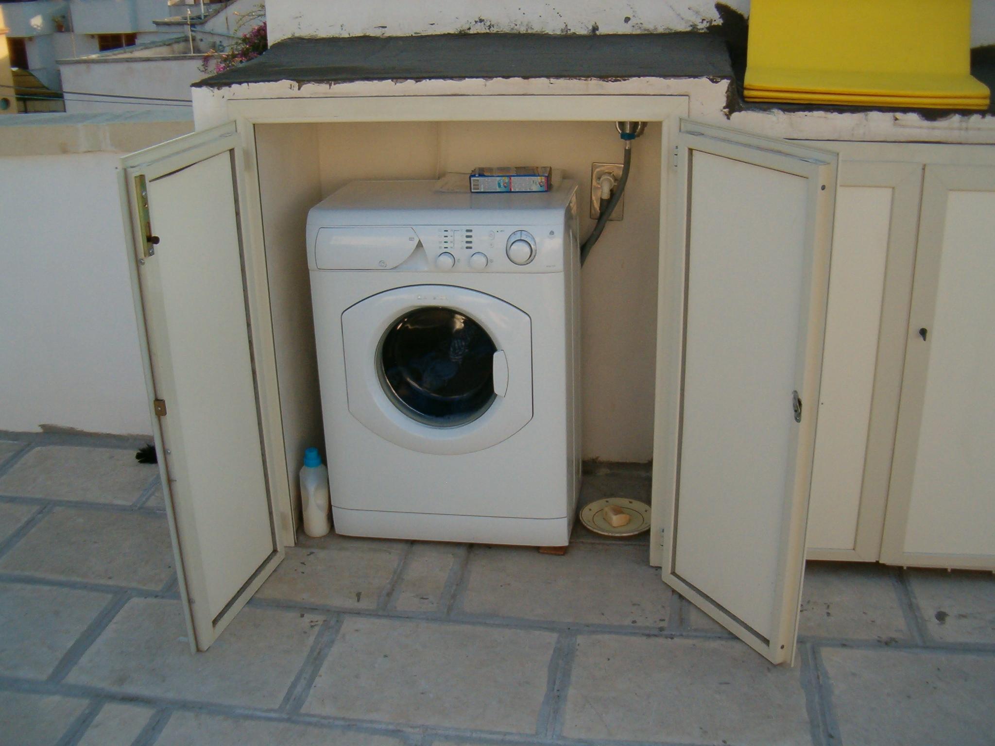 Lavatrice si rovina se in terrazza - Lavatrice per esterno ...